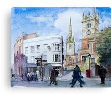 Shrewsbury, Shropshire, England Canvas Print