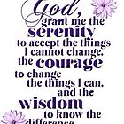Serenity Prayer by Delights