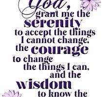 Serenity Prayer by Delights