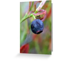 blue appearance Greeting Card