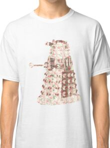 Floral Dalek Classic T-Shirt
