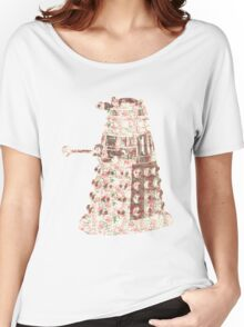 Floral Dalek Women's Relaxed Fit T-Shirt