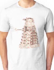 Floral Dalek Unisex T-Shirt
