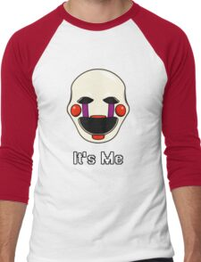 Five Nights at Freddy's - FNAF 2 - Puppet - It's Me Men's Baseball ¾ T-Shirt