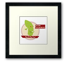 Abe's Oddysee - Rupture Farms Logo Framed Print