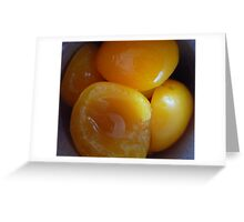 Juicy Apricots Greeting Card