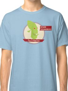 Abe's Oddysee - Rupture Farms Logo Classic T-Shirt