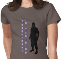 Juggernaut in training Womens Fitted T-Shirt