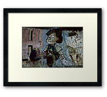 Graffiti - Pinocchio Framed Print