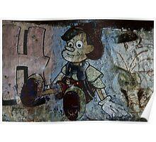 Graffiti - Pinocchio Poster