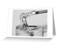 Erasing Watermarks Greeting Card