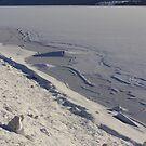 Winter by lake Rottnen by ekolina