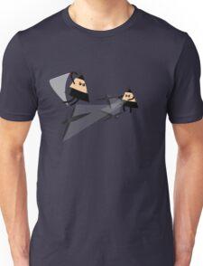 Ninja Triangles Unisex T-Shirt