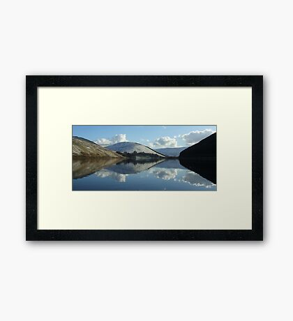 loch of the lowes (pano) Framed Print