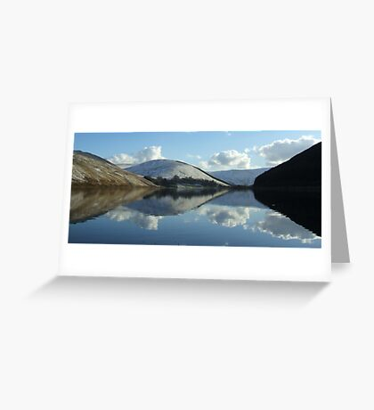 loch of the lowes (pano) Greeting Card
