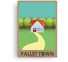 Pallet Town Poster Canvas Print