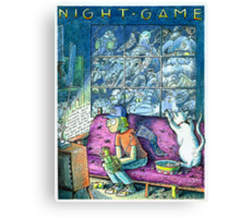 Night Game Canvas Print