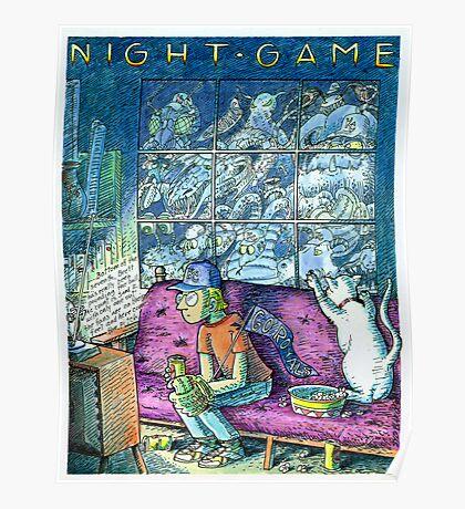 Night Game Poster