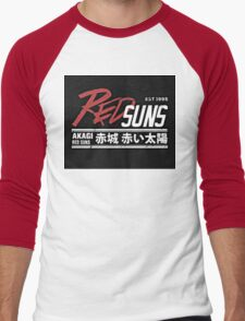 Red Suns. Men's Baseball ¾ T-Shirt