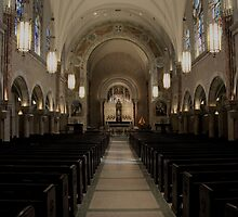 Holy Hill Sanctuary  by Timothy  Ruf