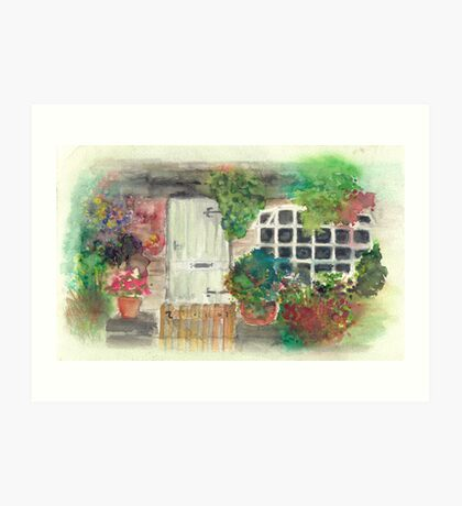 Welcome to My Abode Art Print