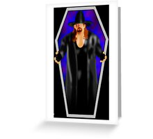 The Undertaker - Coffin Greeting Card