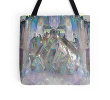 Rainbow Holographic  Tote Bag