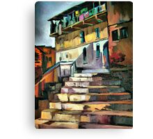 Steps to home Canvas Print