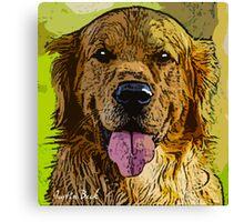 Golden-Retriever-Justin-Beck-Picture-2015093 Canvas Print