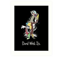 My Little Pony Discord - Deal With It Art Print