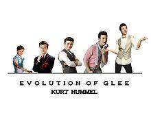 Evolution of Glee || Kurt by linked-pinkies