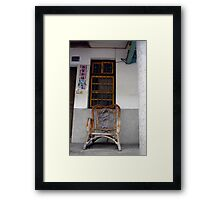 Chair and Window, Taidong Framed Print