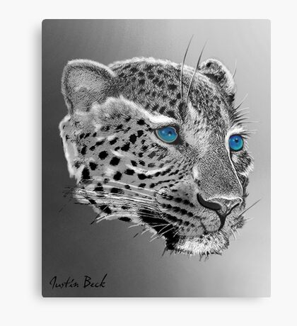 Leopard-Old-Blue-Eyes-Justin-Beck-Picture-2015098 Canvas Print
