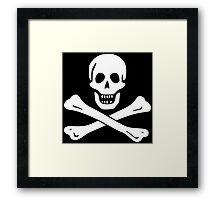 Samuel Bellamy Pirate Flag Framed Print