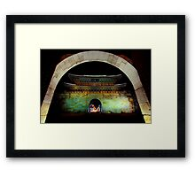 Time Portal Framed Print