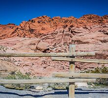 Red Rock Fence by laurinovakpics