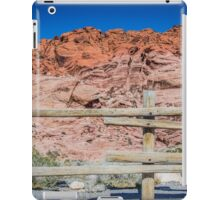Red Rock Fence iPad Case/Skin