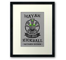 Banjo Tooie - Mayan Kickball Framed Print