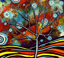 Autumn Tree by Jacqueline Eden