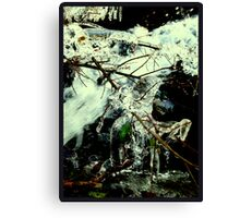 Ice Age - A Oueen´s Knight in Shining Armour Canvas Print