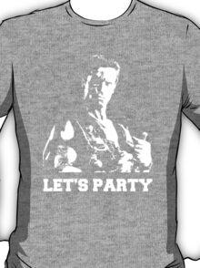 Schwarzenegger Commando Let's Party T-Shirt