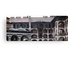 Wet Roofs Canvas Print