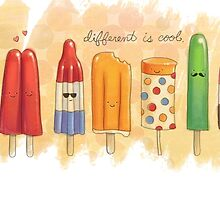 Different is Cool by escapeadulthood