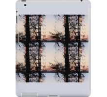 Silhuette of Trees on Water iPad Case/Skin