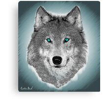 Wise Wolf Justin Beck Picture 2015089 Canvas Print