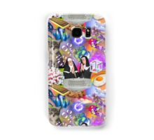 Sisters Paris & Nicole, Money, Fame, Power, a Dolphin, a Mermaid and a Cat Samsung Galaxy Case/Skin