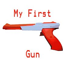 My First Gun by JonBird