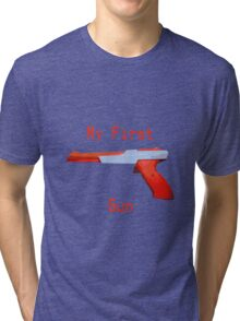 My First Gun Tri-blend T-Shirt