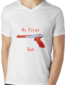 My First Gun Mens V-Neck T-Shirt