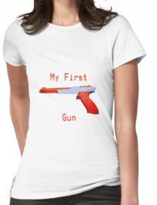 My First Gun Womens Fitted T-Shirt